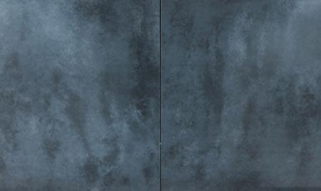 Grès cérame émaillé, gris anthracite, 45 x 45 x 0.92cm - Charente - As de Carreau